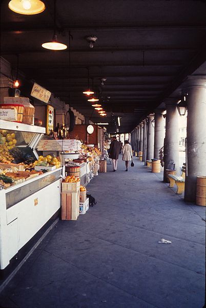 The French Market in 1973