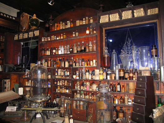 Inside the Pharmacy Museum