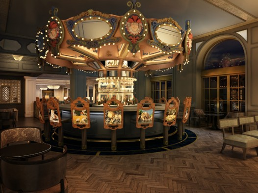 Newly renovated Carousel Bar makes for a sweet spot for New Year's revelry.