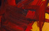 """Kenneth A. McAshan, """"Red Yellow #5,"""" photo courtesy UPtown Pop UP Art Gallery."""