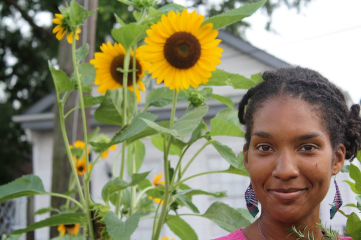 Jenga Mwenda returned to her native New Orleans post-Katrina, and has been nurturing new growth in the Lower 9th Ward.