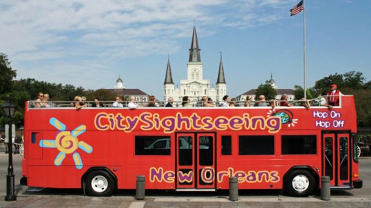 Will New Orleanians board the big red bus? One hop on, hop off aficianado votes yes.