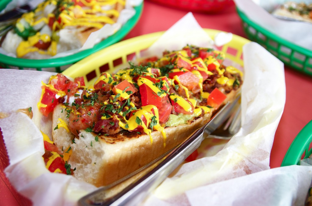 This is how we do hot dogs in New Orleans, ya heard?