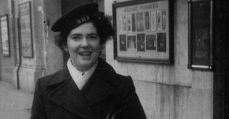 Marigold McNealy in her Wren uniform