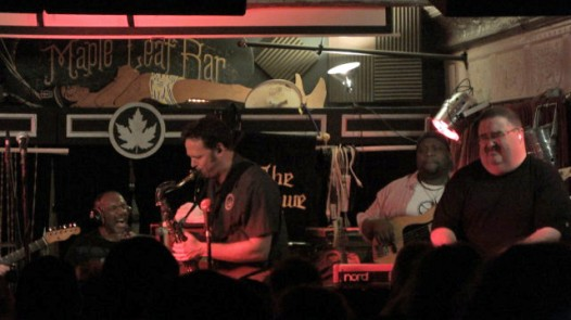 Papa Grows Funk played its farewell to the Maple Leaf this week.
