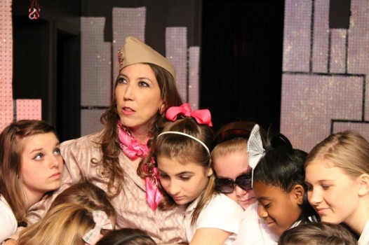 Cutting Edge Theater's recent production of 'Troop Glamour Girls'