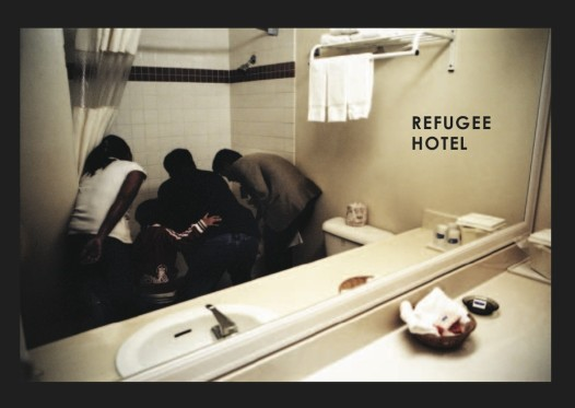 All images by Gabriele Stabile from 'Refugee Hotel'