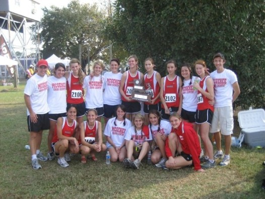 2007 Cross Country State Runners-Up (Cortez on far left)