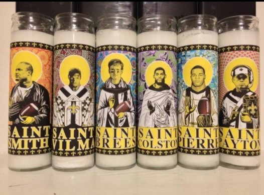 Light one up to commemorate your favorite Saint, or to relax after an emotional and exhausting game.
