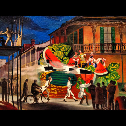 John McCrady, The Parade, 1950