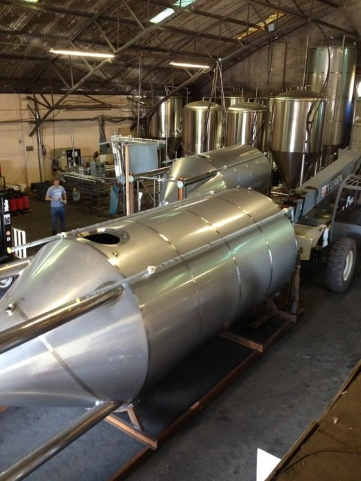 Inside Nola Brewery, which offers complimentary tours and tastings most Fridays.