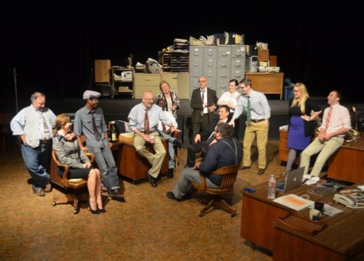 The NOLA Project production of 'A Truckload of Ink' plays through the weekend at UNO.