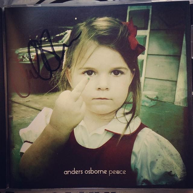 Anders Osborne's Peace album