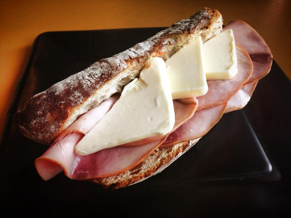 This is not a ham and cheese sandwich.