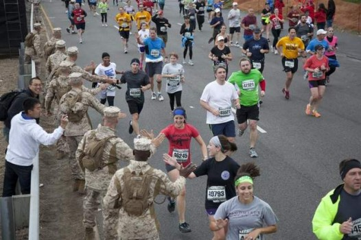 Marine Corps Marathon in Washington