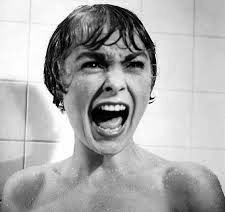 Psycho's famous shower scene