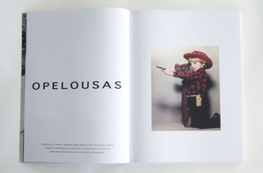 'Opelousas', a Mark Jacobs inspired ad created by Micah Learned (the boy is Learned as a little on)