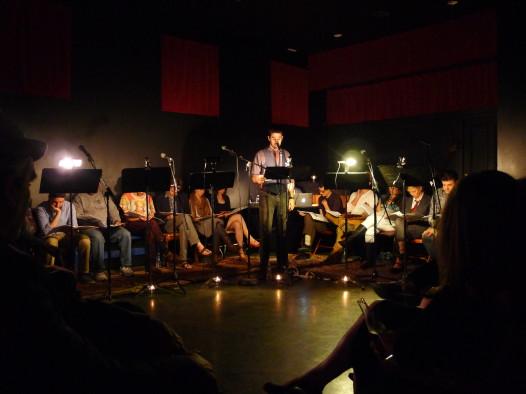 The cast of Sweaty City Episode 1