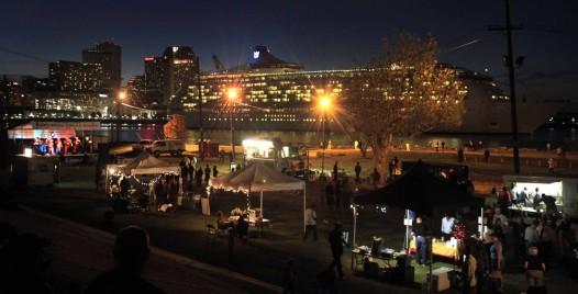 The 2012 Algiers Bonfire and Concert