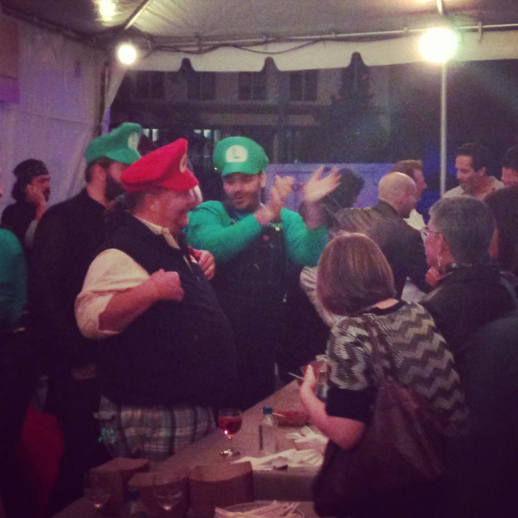 """Mario Batali and """"Luigis"""""""