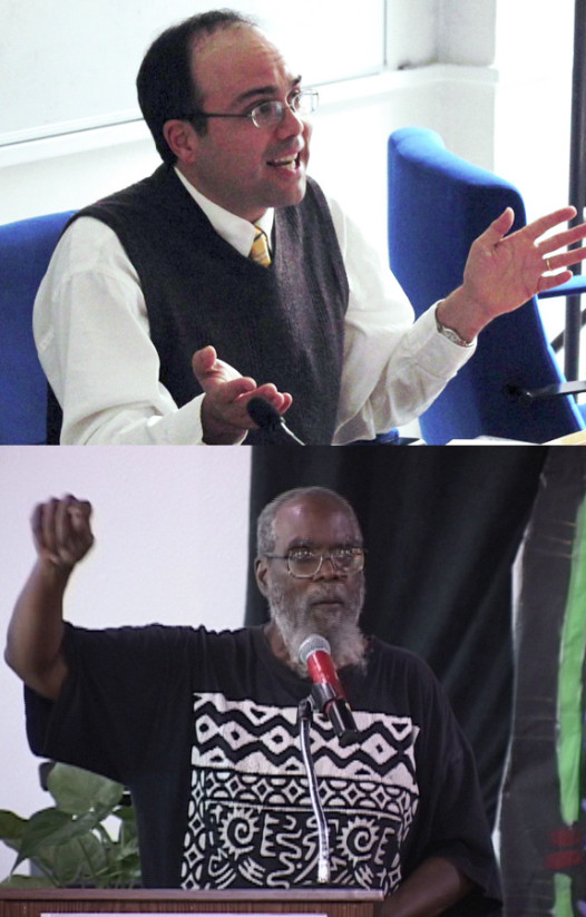 Richard Campanella (top) and Kalamu ya Salaam (bottom)