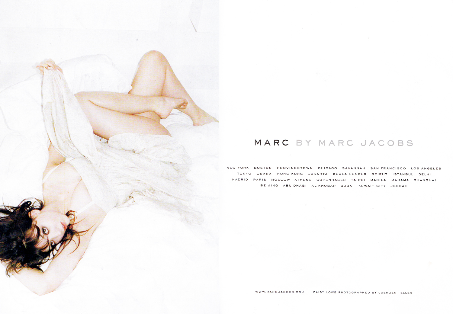 A fake Marc Jacobs ad in
