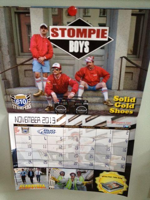 The 2013 610 Stomper calendar