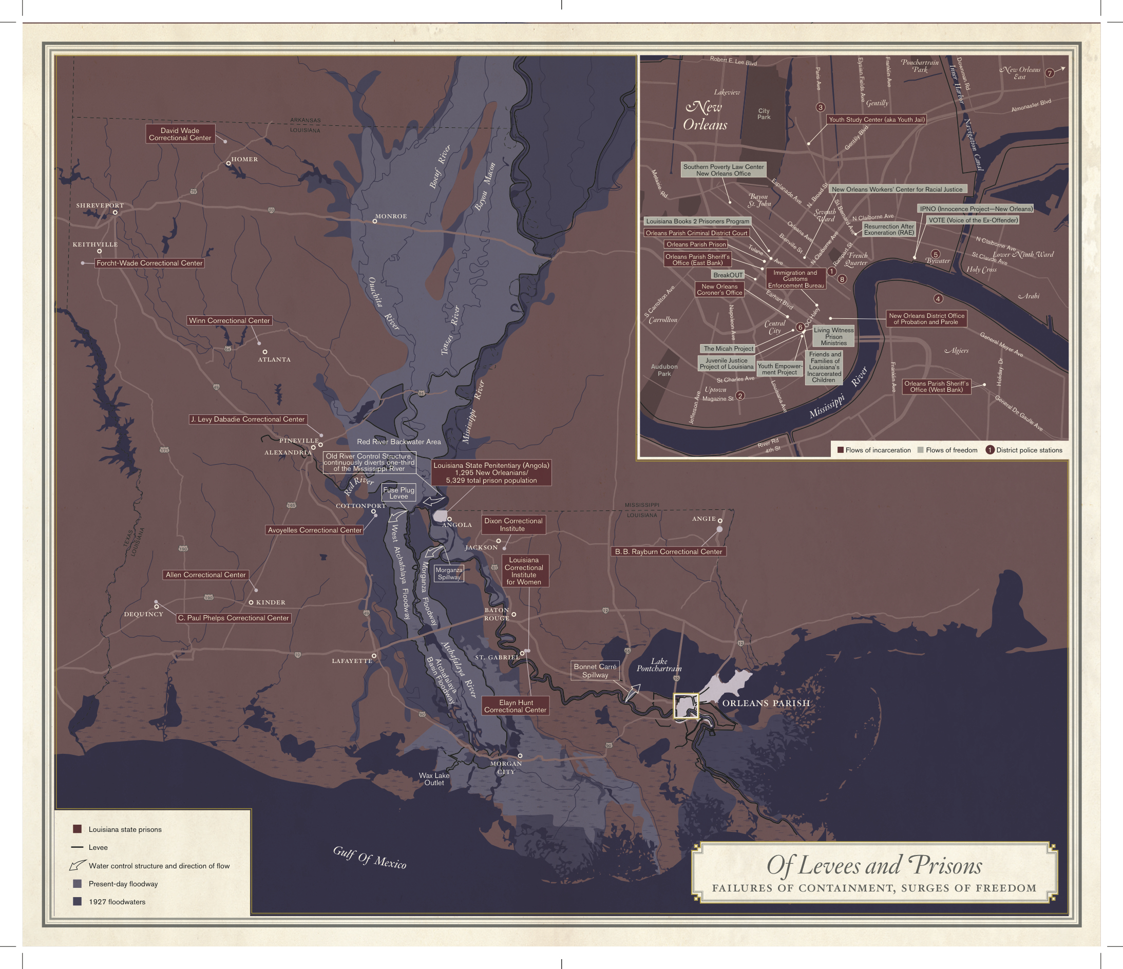 Mapping a map The evolution of Unfathomable City Via Nola Vie