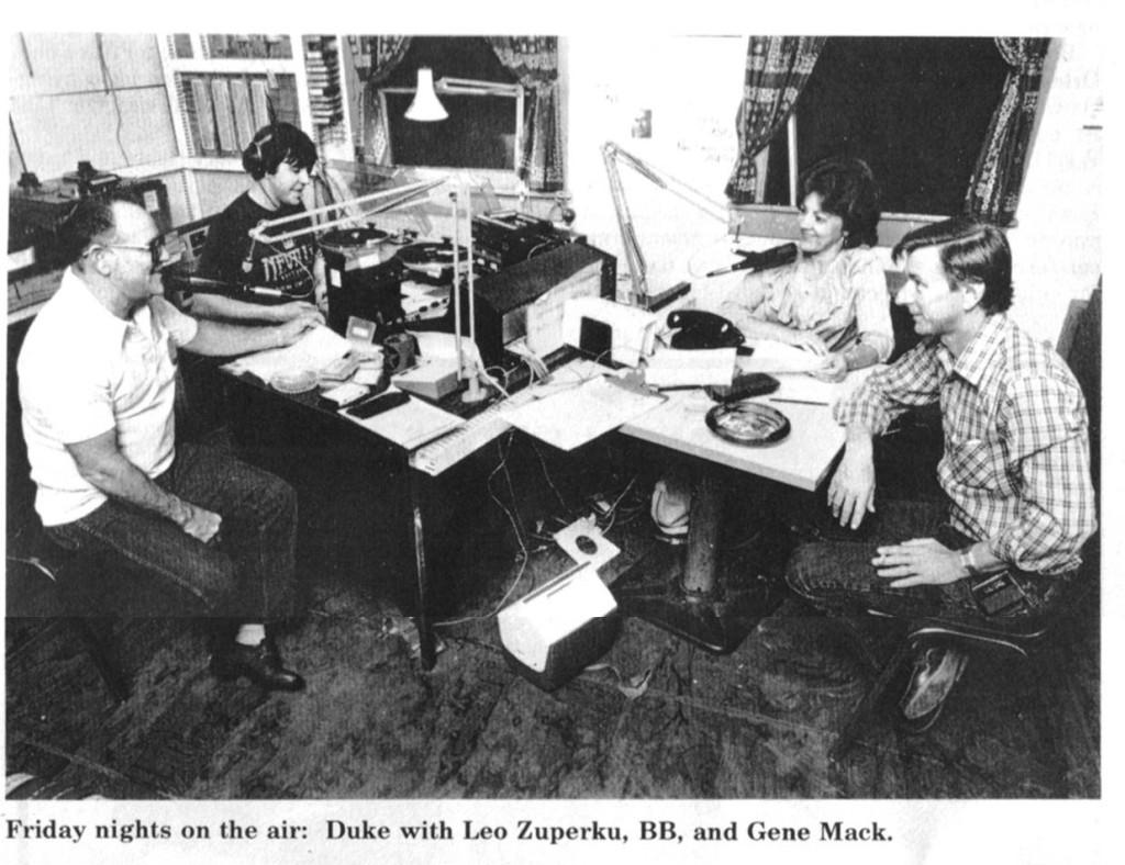 Duke BB and Gene at Tips 1984