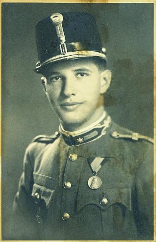 Paul Fabry as a war correspondent in Ukraine, 1943.