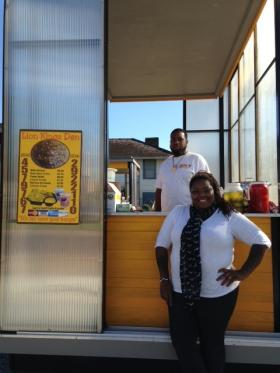Kissy Smith and business partner, founders of the Lion King's Den