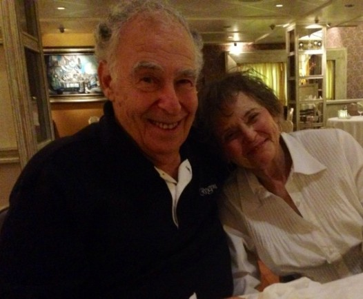 'Words-worth' Alan Cooper and wife Vera (Photo: Millie Ball)