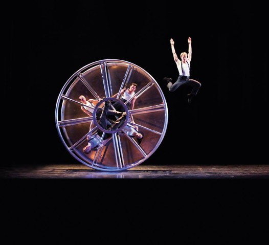 Dancers will perform gravity-defying stunts on