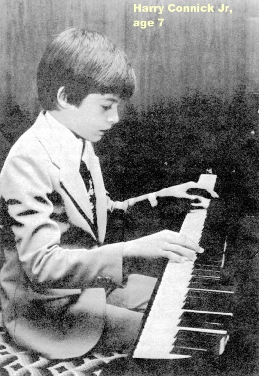Harry Connick Jr. at age 7, in a photo posted on his cousin's website
