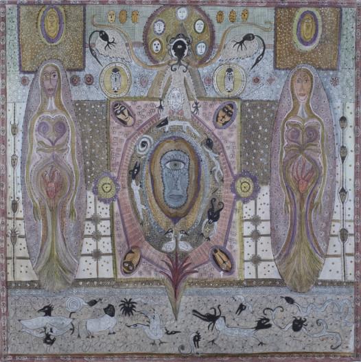 Solange Knopf, 'Spirit Codex No. 3'