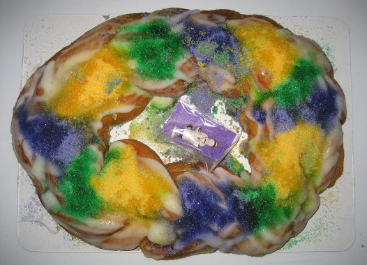Yes,you're going to eat king cake. But how you do it helps take the fat out of Fat Tuesday.