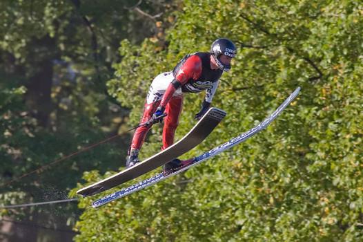 Ski jumping Southern style: not a Winter Olympic sport (Photo: Fir0002/Flagstaffotos)