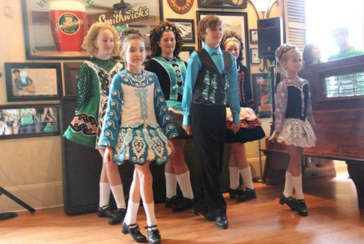 The Irish House will feature Irish dancing as part of their multi-day St. Patrick's celebration.