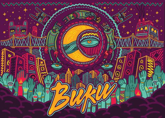 Buku Project at Mardi Gras Wrold Friday and Saturday