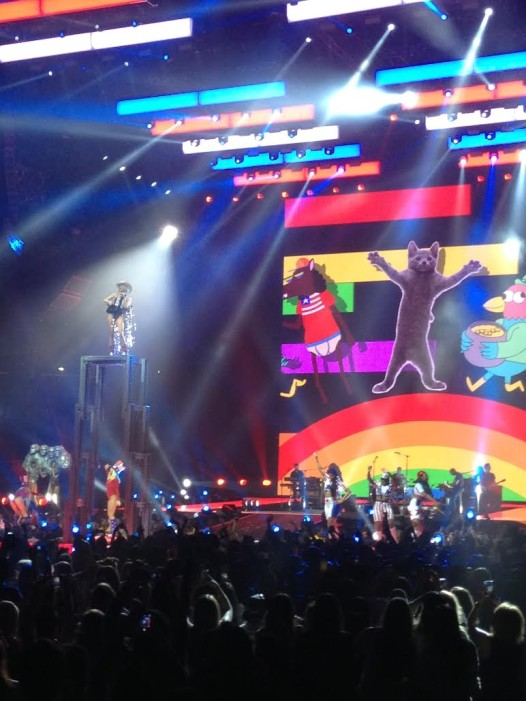 Miley Cyrus at the Smoothie King Arena: Bangerz and beyond (Photo by Jeffrey Preis)