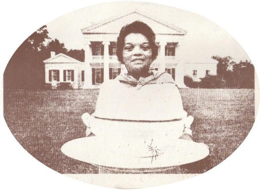 Thelma Parker with her Pumpkin LaFourche