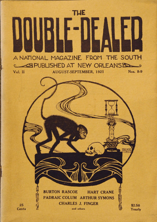 The Double Dealer cover, courtesy of The Historic New Orleans Collection, acc. no.79-50-L