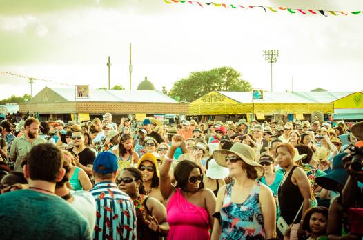 Jazz Fest in full force!