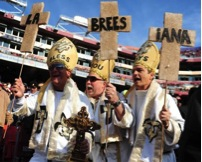 Ultimate Saints fans AND Krewe of O.A.K. kings