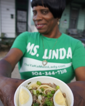 Enjoy Ms. Linda's yakamein and support New Orleans Food Truck Coalition at the Vendy Awards.