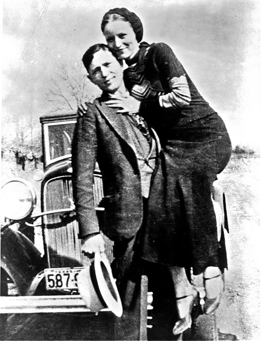 Bonnie & Clyde credit: Library of Congress