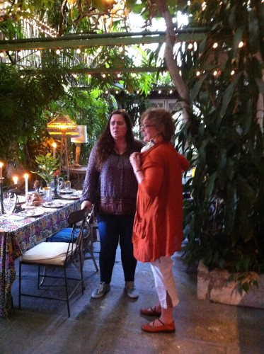 Bethany with Moveable Feast Producer, Mimi Adams