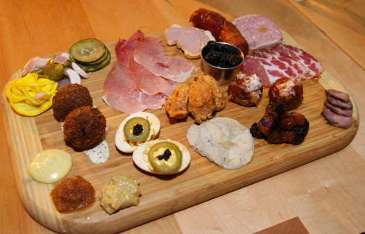 The Cajun-inflected charcuterie board at Toups' Meatery.