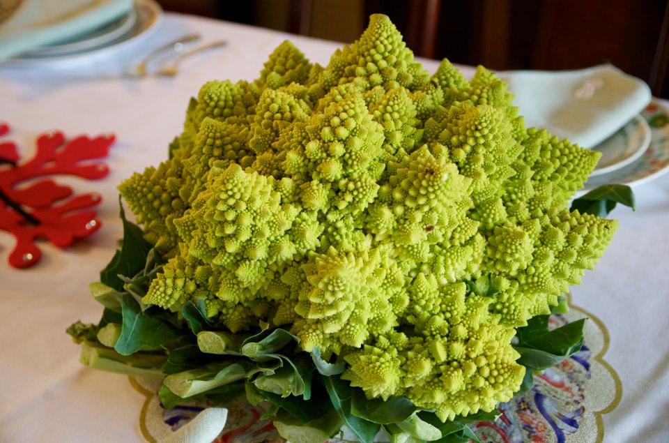 Romanesco: Nerdiest vegetable ever?