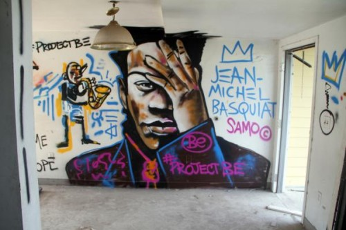 Make your own street art Saturday at the CAC's street art workshop.